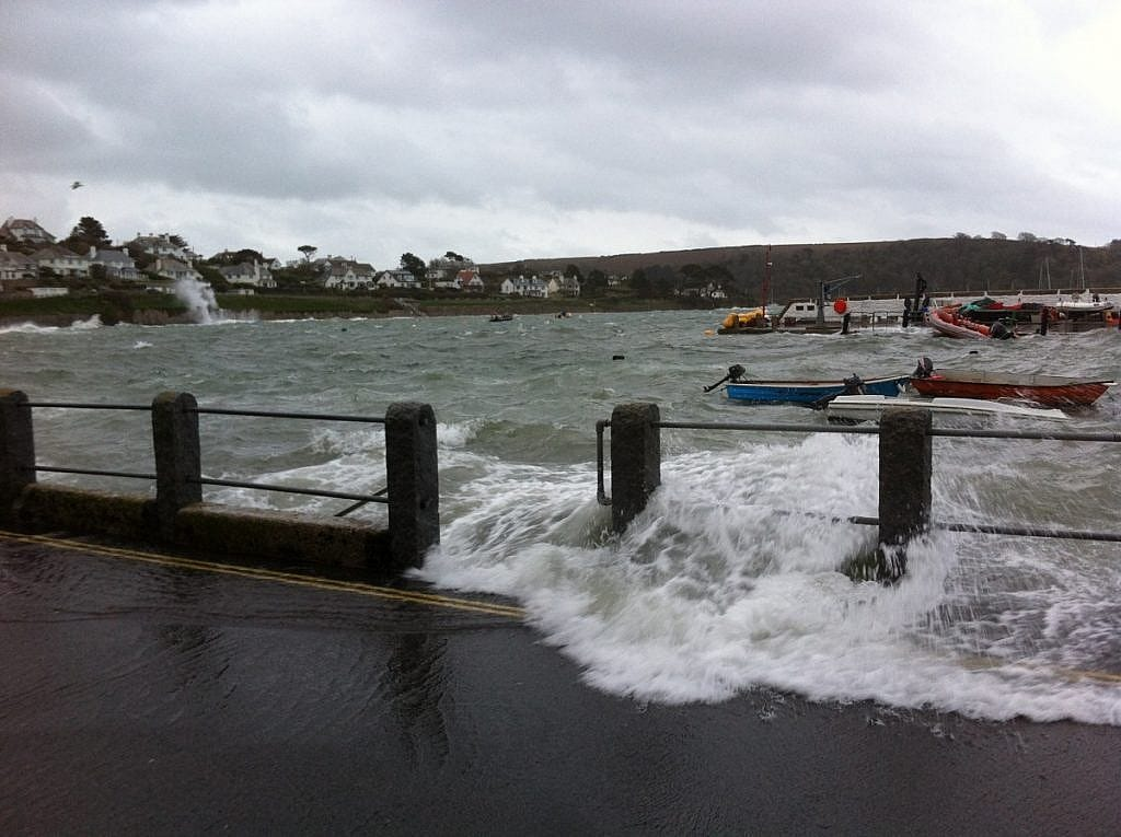 Storms in St Mawes
