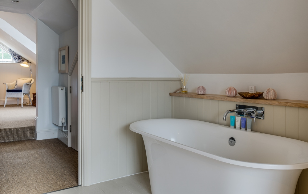 view of the freestanding bath in village hideaway room
