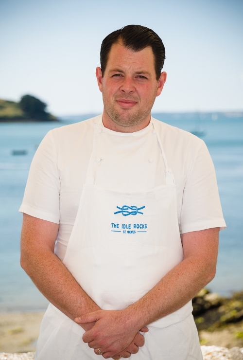 Gead Chef Guy Owen at the Idle Rocks Hotel