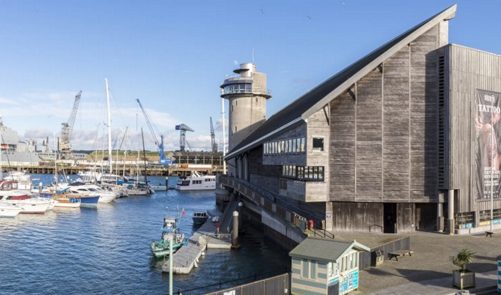 Falmouth Maritime Museum exterior