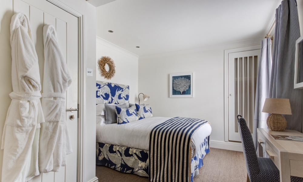 a view of bedroom 10 at The Idle Rocks Hotel, St Mawes