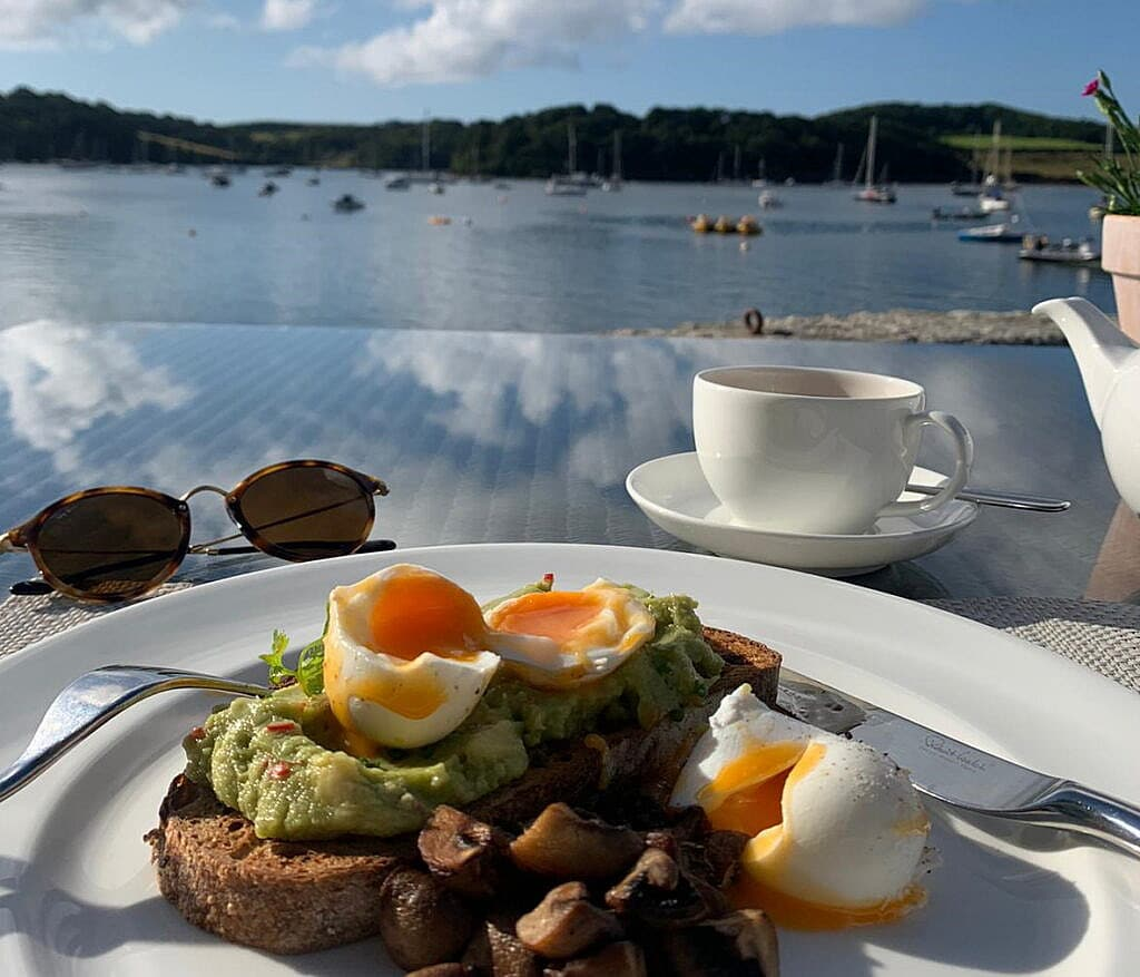 Dine in the Idle Rocks, St Mawes, Roseland Peninsula