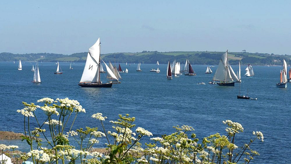 Sailing in St Mawes