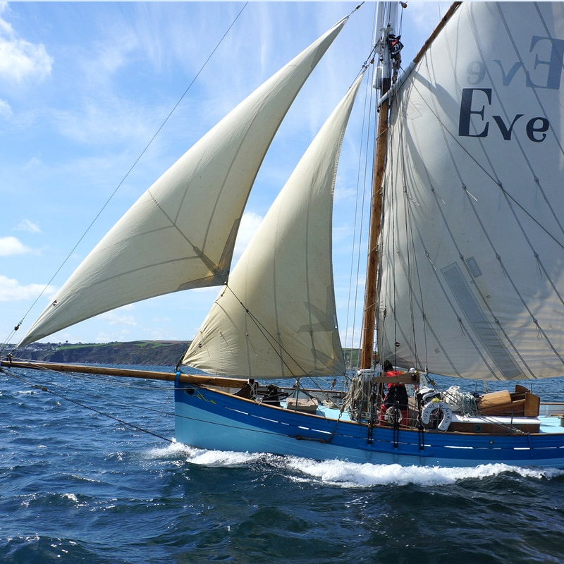 Charter sailing yachts at The Idle Rocks