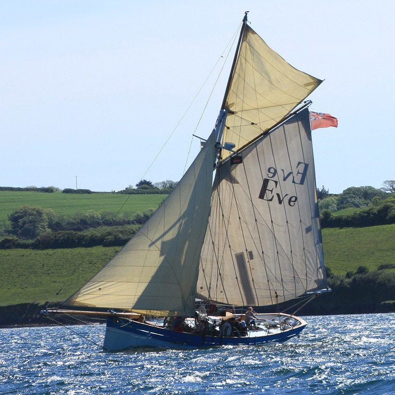 St Mawes sailing yacht Eve