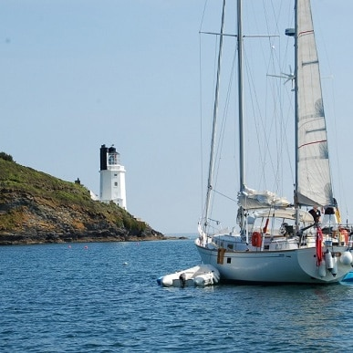 Charter sailing yachts at The Idle Rocks