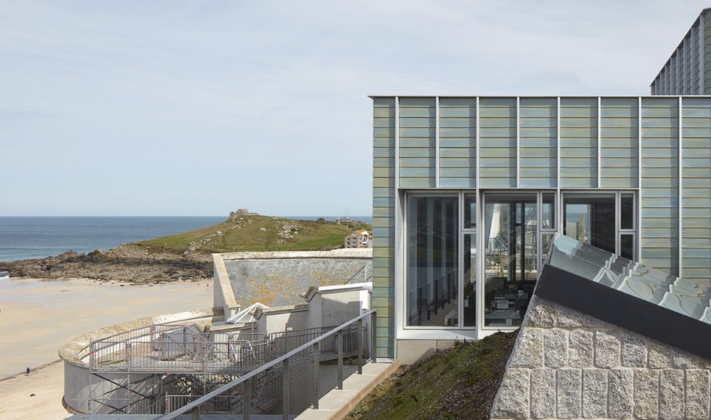 The Tate Art gallery in St Ives