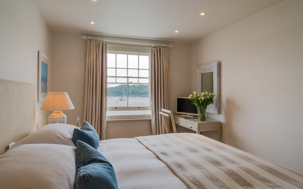 view of St mawes hotel room with seaview