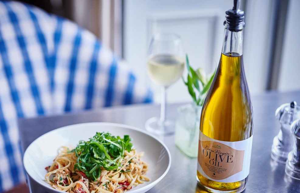 St Mawes Hotel Menu - wine and pasta