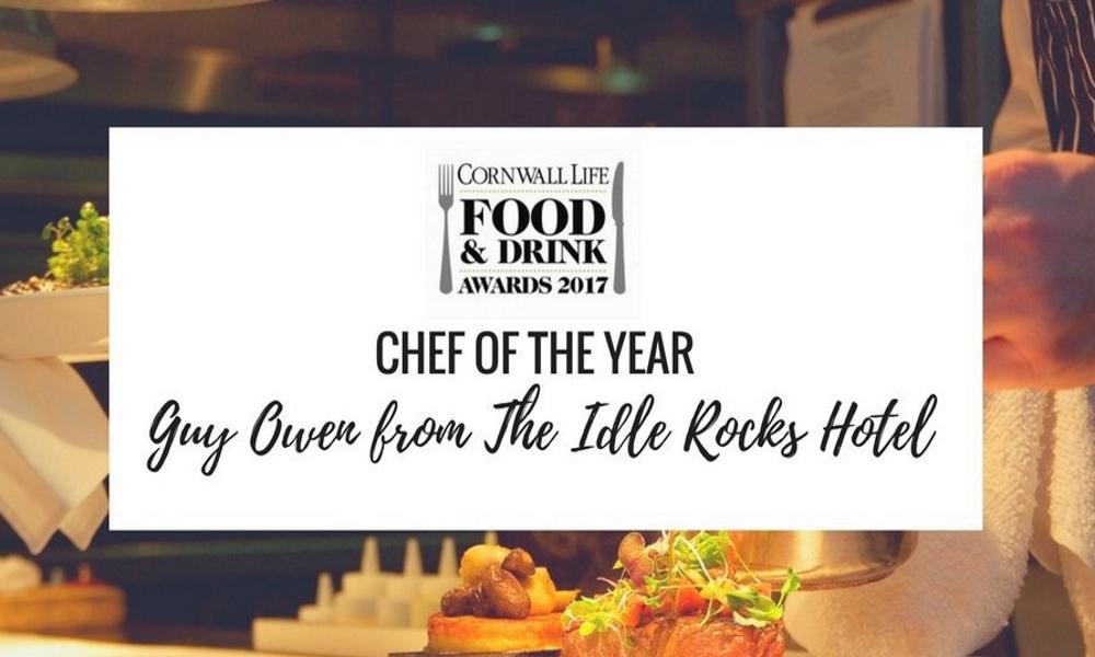 Chef of Year 2017 - Cornwall Life Food & Drink Awards