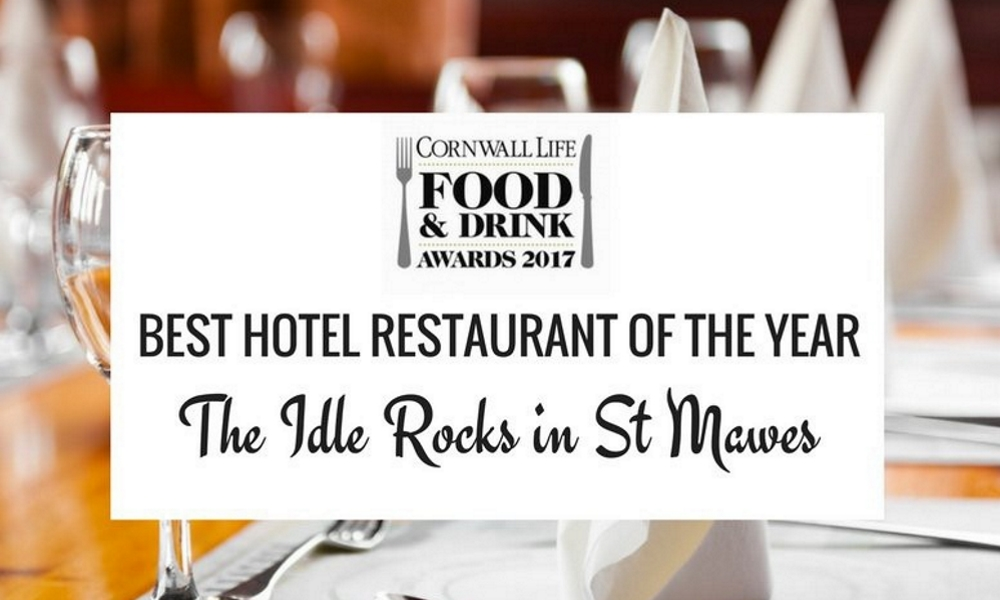 Hotel Restaurant of the Year - Cornwall Life Food & Drink Awards
