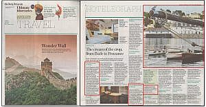The Idle Rocks in The Daily Telegraph