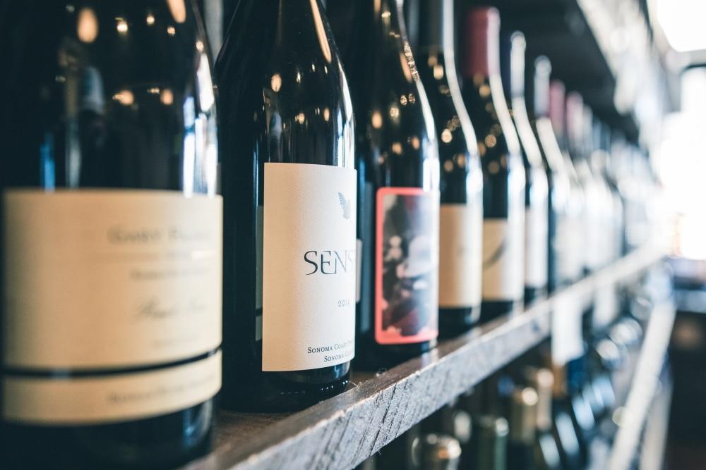 Shelf of Wines - Head Sommelier Job