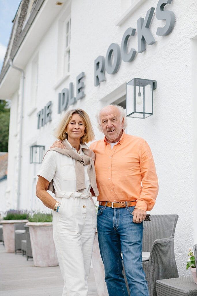 David and Karen Richards - Owners of The Idle Rocks