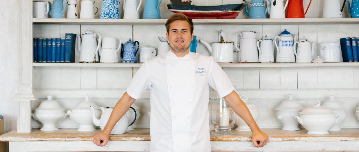 Dorian Janmaat - Head Chef at The Idle Rocks Restaurant, St Mawes