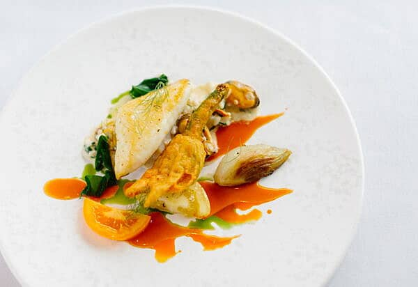 Starter- Dine in the Idle Rocks, St Mawes, Roseland Peninsula