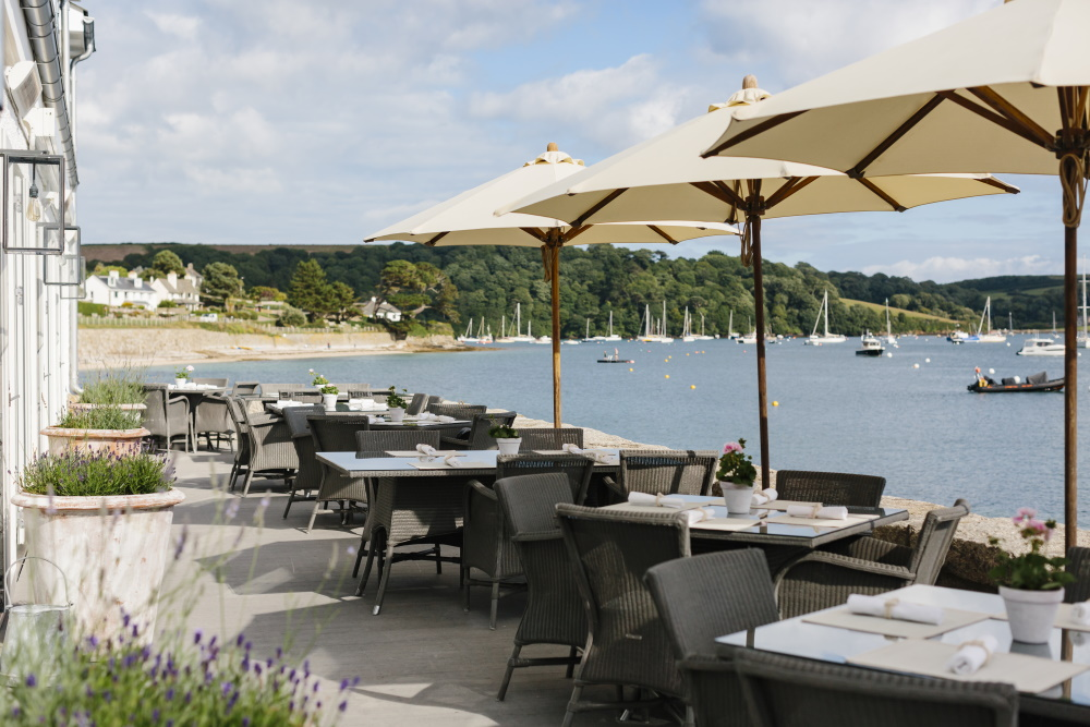 The Waterside Terrace Restaurant at the Idle Rocks