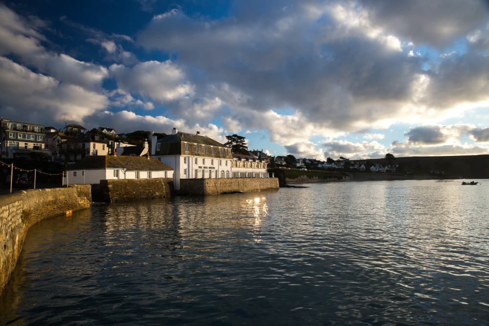 The Idle Rocks, in St Mawes, on The Roseland Peninsula, Cornwall
