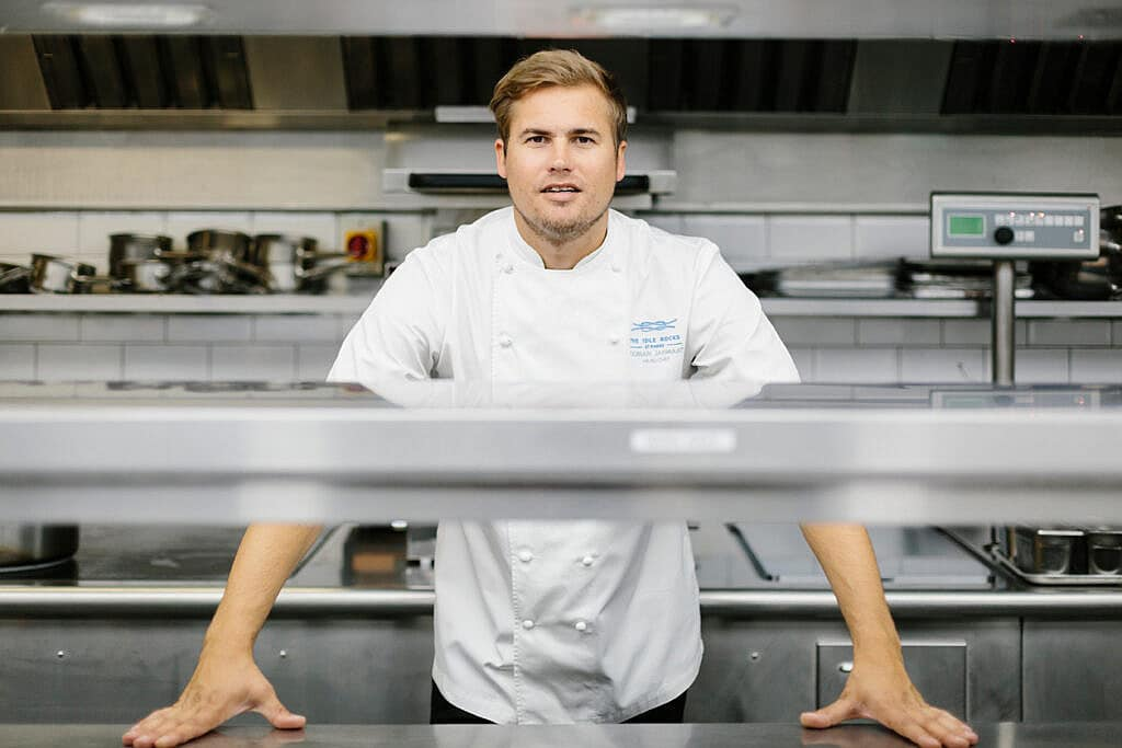 Dorian Janmaat - Executive Head Chef at The Idle Rocks