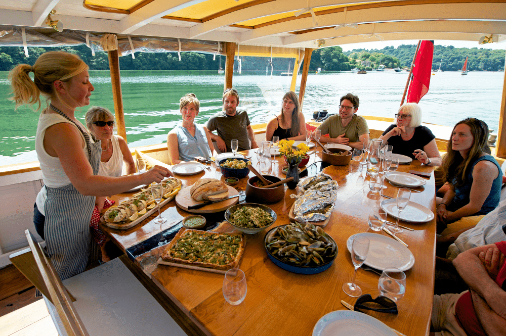 Blue River Table - Dining On The Fal River